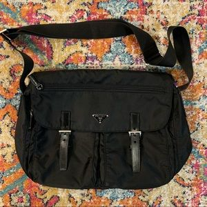 PRADA Authentic Genuine Messenger Nylon Bag